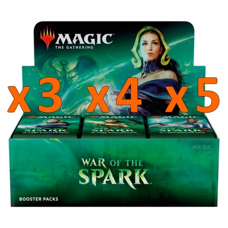 Booster Box (36 packs) : War of the Spark (x3 and more)