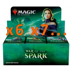 Booster Box (36 packs) : War of the Spark (x6 and more)
