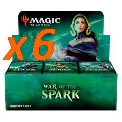 Case of 6 Booster Boxes : War of the Spark