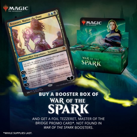 Booster Box (36 packs) : War of the Spark + Buy-a-Box card