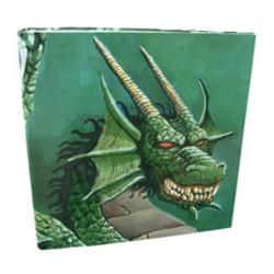Classeur Dragon Shield 3 Anneaux Dragon Vert