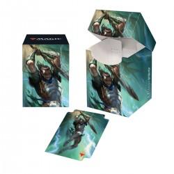 Deck Box Pro 100+ La Guerre des Planeswalkers V1 - Gideon Lamenoire
