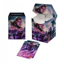 Deck Box Pro 100+ La Guerre des Planeswalkers V2 - Liliana, générale de la Horde de l'effroi