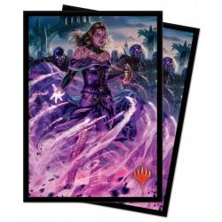 War of the Spark Ultra Pro Sleeves - Liliana, Dreadhorde General (x100)
