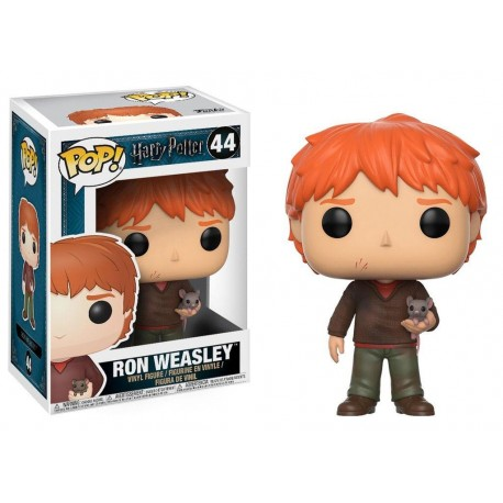 Ron Weasley with Scabbers Funko Pop Harry Potter Movies 44