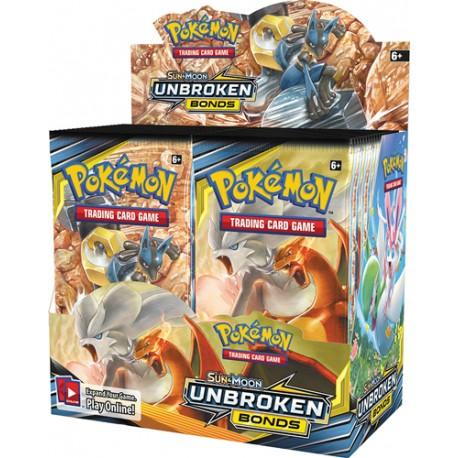 Unbroken Bonds Pokémon Booster Box (36 Booster Packs) SM10 (EN)