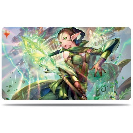 War of the Spark Arlternate Art Playmat - Nissa