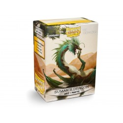 Protège-cartes Mat Dragon Shield : Summer Dragon Matte Art Sleeves (x100)