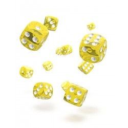 Oakie Doakie Dice 36D6 12mm - Translucent - Yellow