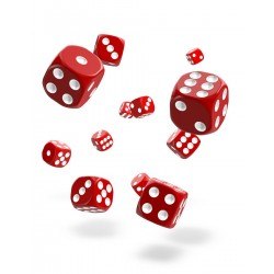 Oakie Doakie Dice 36D6 12mm - Solid - Red