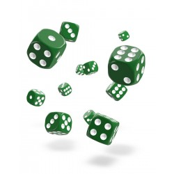 Oakie Doakie Dice 36D6 12mm - Solid - Green