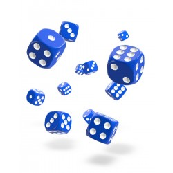 Oakie Doakie Dice 36D6 12mm - Solid - Blue