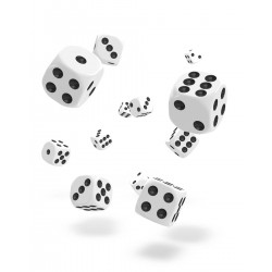 Oakie Doakie Dice 36D6 12mm - Solid - White