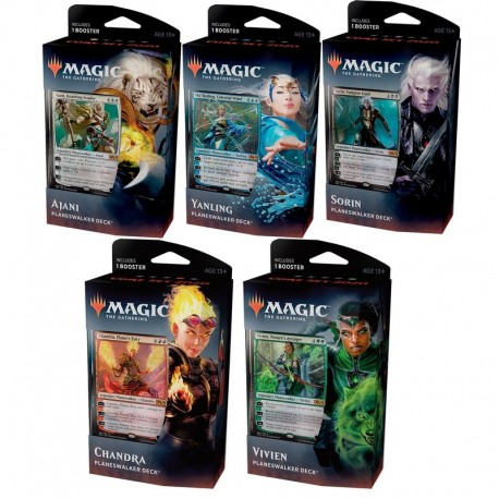 Set of 5 Planeswalker Decks : Core Set 2020