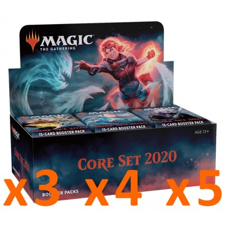 Booster Box : Core Set 2020 (x3 and more)