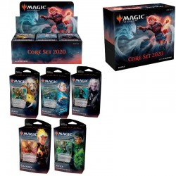 Family Pack : Core Set 2020 (Box + Bundle + 5 PWD)