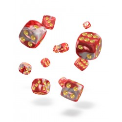 Oakie Doakie Dice 36D6 12mm - Gemidice - Red Sky