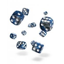 Oakie Doakie Dice - 36D6 - 12mm - Gemidice - Liquid Steel