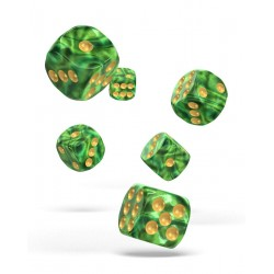 Oakie Doakie Dice dés 12D6 16mm - Gemidice - Jungle