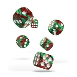 Oakie Doakie Dice dés 12D6 16mm - Gemidice - Bloody Jungle