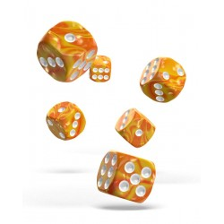 Oakie Doakie Dice 12D6 16mm - Gemidice - Sunstone