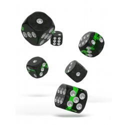 Oakie Doakie Dice dés 12D6 16mm - Enclave - Emerald