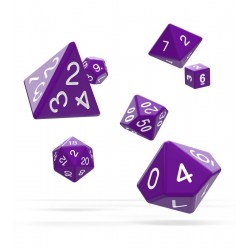 Oakie Doakie Dice - RPG Set - Solid - Purple