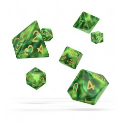 Oakie Doakie Dice - RPG Set - Gemidice - Jungle