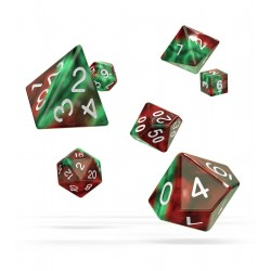 Oakie Doakie Dice dés RPG Set - Gemidice - Bloody Jungle