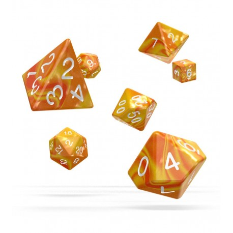 Oakie Doakie Dice RPG Set - Gemidice - Sunstone