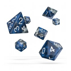 Oakie Doakie Dice - RPG Set - Gemidice - Liquid Steel