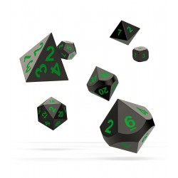 Oakie Doakie Dice RPG Set - Metal Dice - Matrix