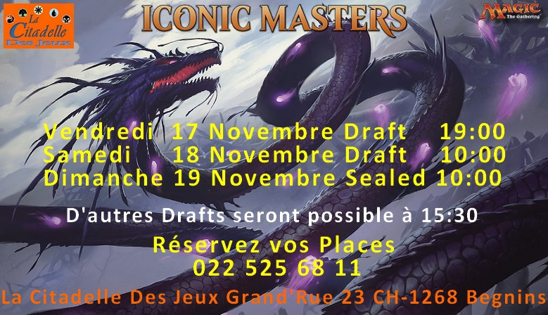 Iconic Masters Events and Products