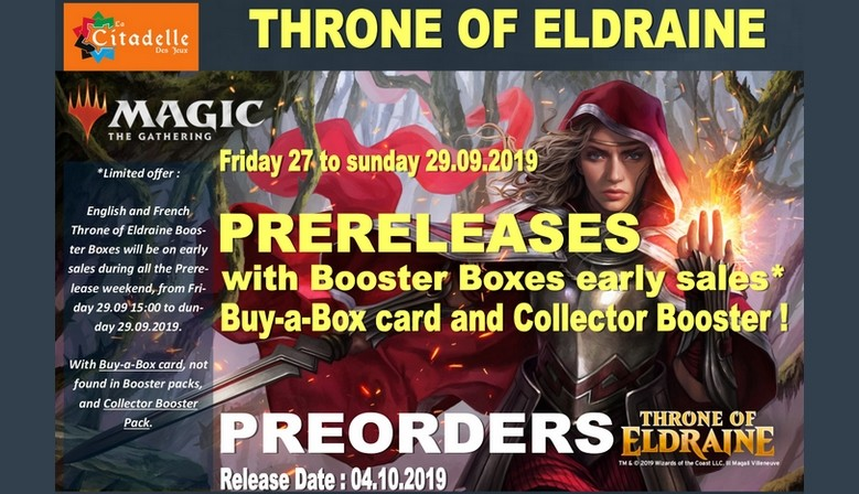 Throne of Eldraine Sealed Products